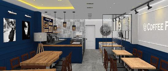 익산 달빛 커피숍 인테리어 디자인 제안 및 시공