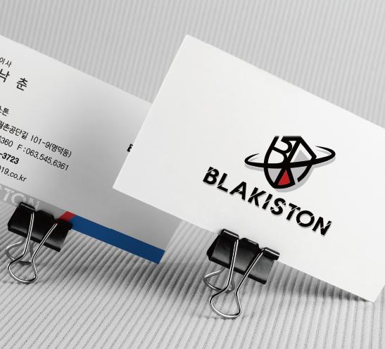 블래키스톤 명함